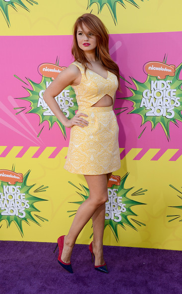 Debby Ryan Cutout Dress