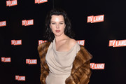 Debi Mazar Fur Coat