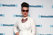 Debi Mazar Shirtdress