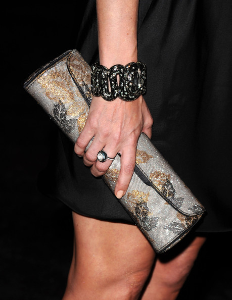 Debra Messing Printed Clutch
