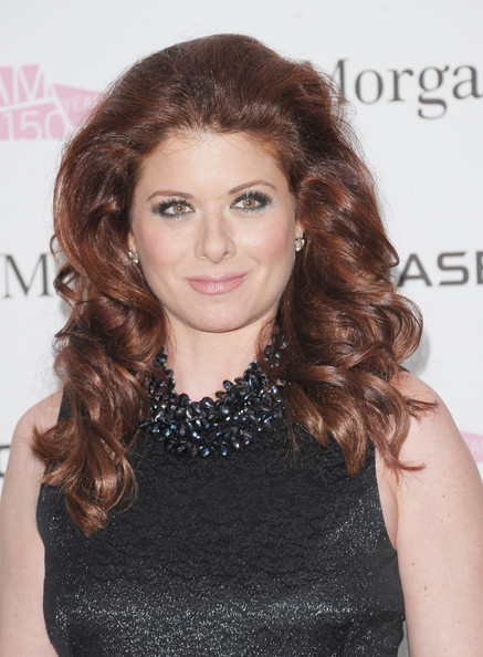 Debra Messing Long Curls