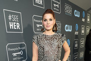 Debra Messing Sheer Dress