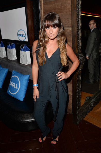 More Pics of Lea Michele Jumpsuit (4 of 6) - Lea Michele Lookbook - StyleBistro
