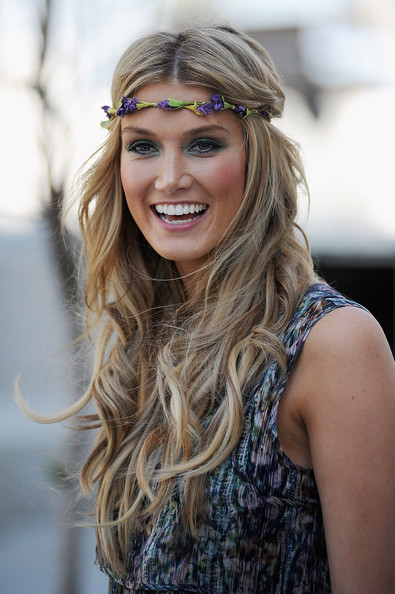 Delta Goodrem Hair