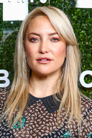 Kate Hudson wore a simple yet stylish layered cut at the launch of Demi Lovato's Fabletics capsule collection.
