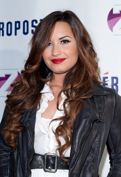 Demi Lovato Long Curls