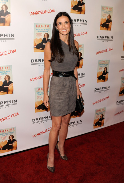Demi Moore Leather Belt