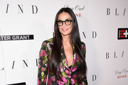 Demi Moore Printed Clutch