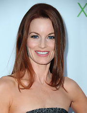 Laura Leighton styled her hair sleek and straight for the series finale of 'Desperate Housewives.'