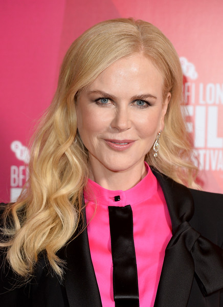 Nicole Kidman looked lovely with her loose waves at the BFI London Film Festival premiere of 'Destroyer.'
