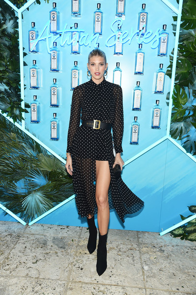 Devon Windsor Ankle Boots [blue,clothing,street fashion,fashion,turquoise,electric blue,cobalt blue,footwear,dress,joint,tessa thompson,miami beach,florida,villa casa casuarina,devon windsor,bombay sapphire artisan series finale]
