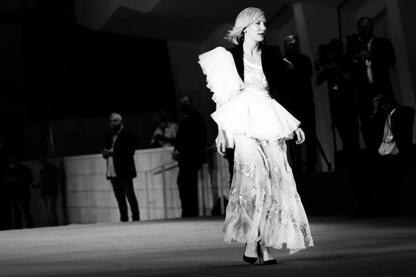 More Pics of Cate Blanchett Embroidered Dress (2 of 65) - Cate Blanchett Lookbook - StyleBistro [image,movie,photograph,white,photograph,black,black-and-white,fashion,monochrome,monochrome photography,dance,performing arts,event,di yi lu xiang,red carpet,love after love,monochrome,fashion,editors note,77th venice film festival,modern dance,ballroom dance,black and white,gown,performance art,model,haute couture,monochrome,fashion,lady m cake boutique]