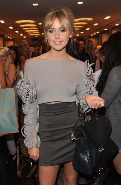 Diana Vickers Leather Tote