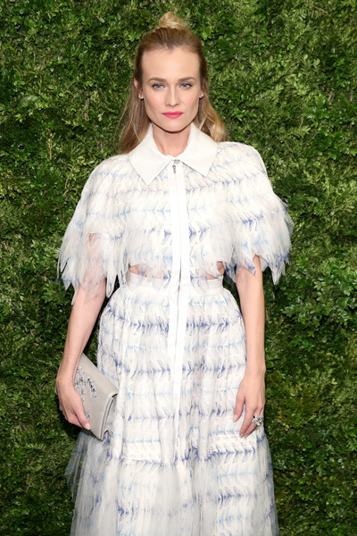 Diane Kruger Beaded Clutch