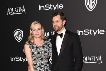 Diane Kruger Joshua Jackson InStyle And Warner Bros. Golden Globes Party — Part 2