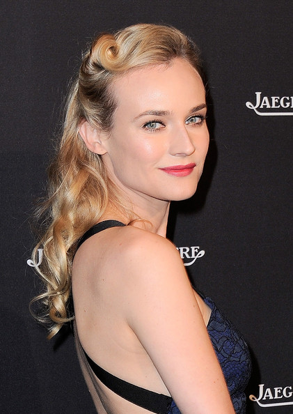 Diane Kruger Retro Hairstyle [hair,face,hairstyle,eyebrow,beauty,chin,blond,long hair,shoulder,lip,diane kruger,photocall,paris,jaeger-lecoultre boutique,jaeger-lecoultre,place vendome boutique opening]