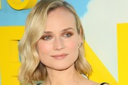 Diane Kruger Metallic Eyeshadow