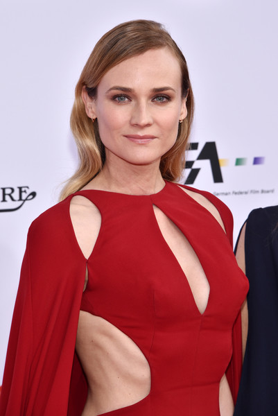 Diane Kruger Medium Wavy Cut