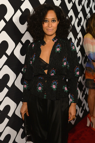 More Pics of Tracee Ellis Ross Print Blouse (1 of 2) - Print Blouse Lookbook - StyleBistro