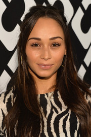 Cara Santana was hippie-chic at the Journey of a Dress exhibition opening with this ultra-long half-up 'do.