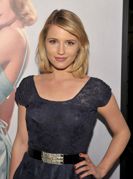 Dianna Agron Red Nail Polish