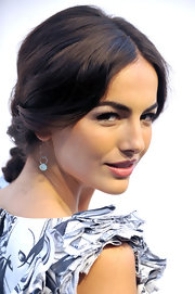 Camilla Belle showed off her elegant updo at Tod's Boutique. She has such a classic style that is effortless.