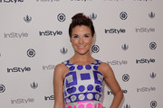 Diem Brown Print Dress