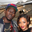 Theophilus London and Angela Simmons