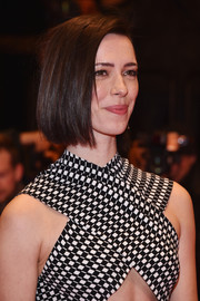 Rebecca Hall sported a sleek bob at the Berlinale premiere of 'The Dinner.'