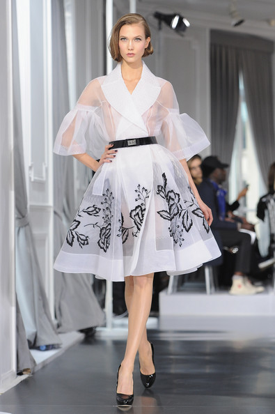 Dior Haute-Couture Runway at F/W 2012 Paris Fashion Week