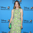 Sophie Lowe in a Vibrant Graphic Dress