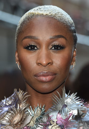 Cynthia Erivo rocked a buzzcut at the red carpet event for Disney's new musical, 'Aladdin.'