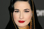 Dita Von Teese Layered Beaded Necklace