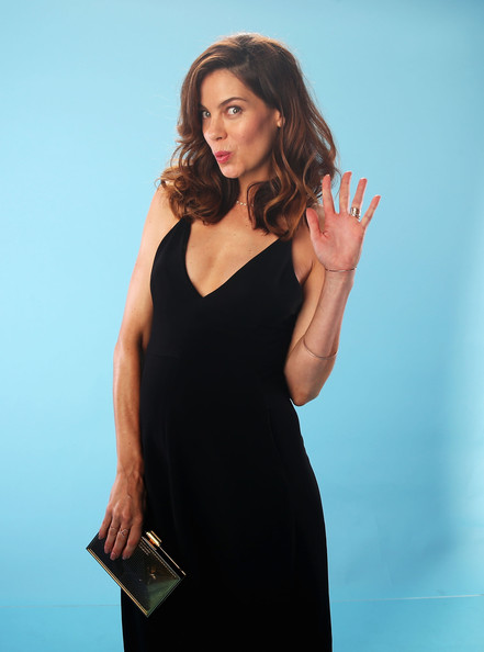 More Pics of Michelle Monaghan Box Clutch (4 of 6) - Michelle Monaghan Lookbook - StyleBistro