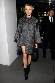 Chloe Sevigny's tweed wool mini looked super chic and classic at the opening of the Dolce & Gabbana 5th Avenue store opening.