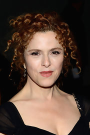 Bernadette Peters pinned up her famous ringlets at a Donna Karan Show in New York.
