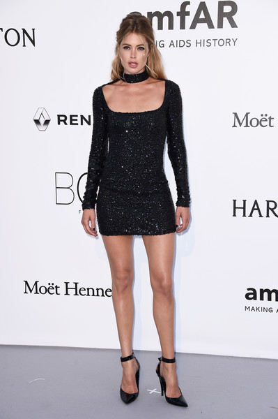 Doutzen Kroes Beaded Dress