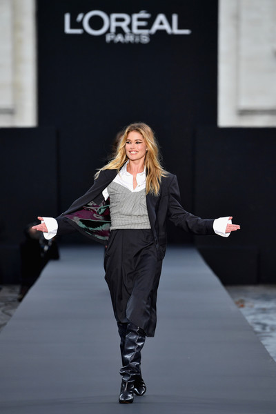 Doutzen Kroes Skirt Suit