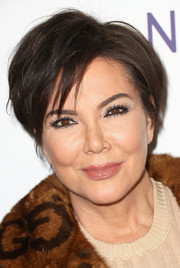 Kris Jenner wore her short hair in an edgy tousled style at the grand opening of Dr. Paul Nassif's new medical spa.