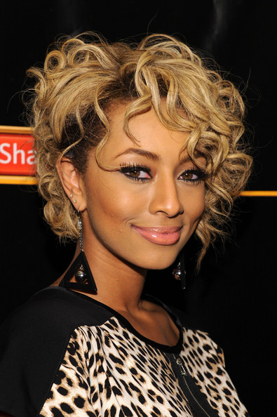 Keri Hilson showed off her blond curls while attending a New York event.