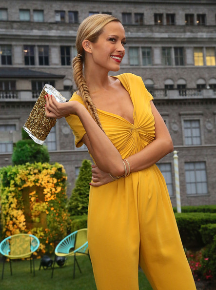 More Pics of Petra Nemcova Long Braided Hairstyle (3 of 30) - Petra Nemcova Lookbook - StyleBistro