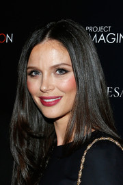 Georgina Chapman looked gorgeous with her sleek layers at the screening of 'A Dream of Flying.'