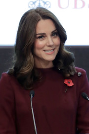 Kate Middleton looked sweet with her shoulder-length curls at the Place2Be School Leaders Forum.