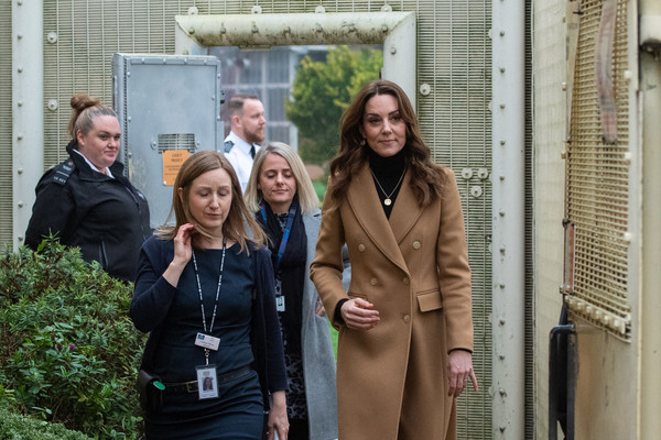 More Pics of Kate Middleton Full Skirt (5 of 30) - Dresses & Skirts Lookbook - StyleBistro [social group,event,tourism,house,smile,jacket,team,family,catherine,visit,survey,duchess,questions,hmp send,country,cambridge,woking,duchess of cambridge launches landmark uk,catherine duchess of cambridge,hm prison send,stock photography,british royal family,royal highness]