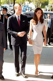 Prince William looked handsome alongside Kate at the Variety Summit in a classic black suit.