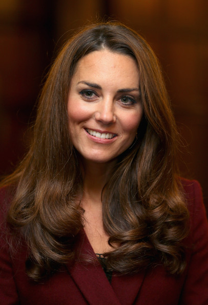 More Pics of Kate Middleton Long Curls (3 of 16) - Kate Middleton Lookbook - StyleBistro