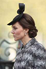 Kate Middleton was elegantly coiffed with this chignon while attending the Service of Hope.
