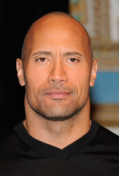 Dwayne Johnson Bald Dwayne Johnson Looks Stylebistro