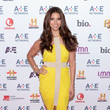 Roselyn Sanchez at the A&E Upfronts in New York