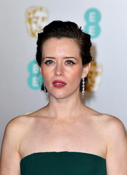 Claire Foy went edgy with this messy, slicked-back 'do at the EE British Academy Film Awards.